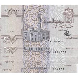 Egypt 25 piastres 1979 (10 pcs)
