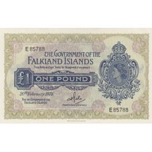 Falkland Islands 1 pound 1974
