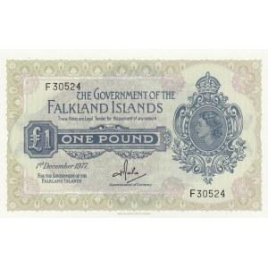 Falkland 1 pound 1977