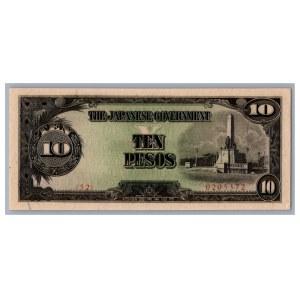 Philippines - Japanese Government 10 pesos 1943