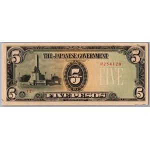 Philippines - Japanese Government 5 pesos 1943