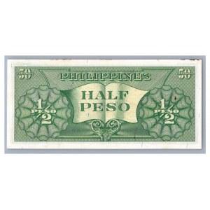 Philippines 1/2 pesos 1949