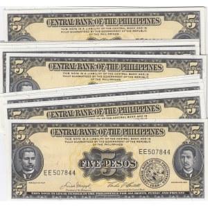 Philippines 5 pesos 1949 (20 pcs)