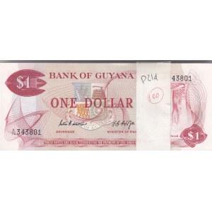 Guyana 1 dollar 1966-92 pangapakk (100)