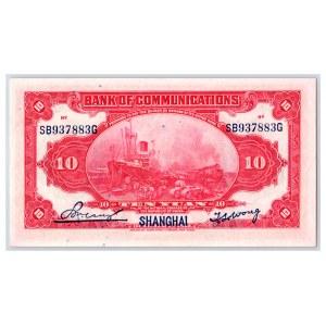 China 10 yuan 1914
