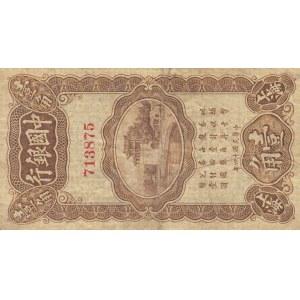 China 10 cents 1925