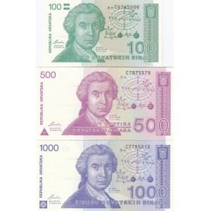 Croatia 1-1000 dinar 1991 (7)