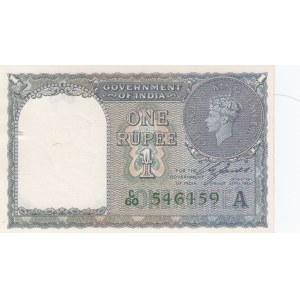 India 1 rupee 1940