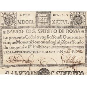 Italy 45 scudis 1786