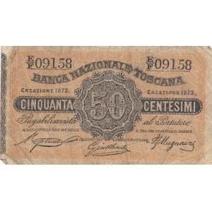 Italy 50 centesimi 1873