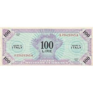 Italy 100 lire 1943 military