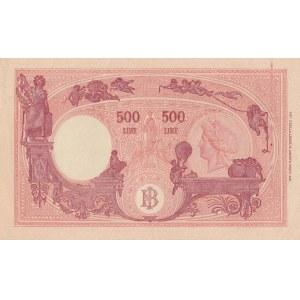 Italy 500 lire 1943