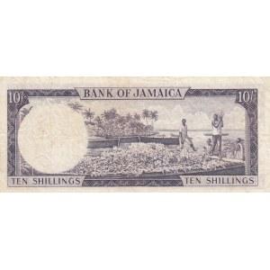 Jamaica 10 shillings 1960
