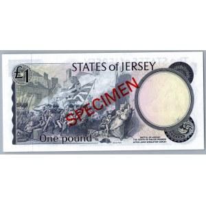 Jersey 1 pound - SPECIMEN