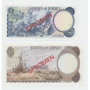 Jersey 1-100 pounds 1978 - Specimens (4)