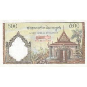 Cambodja 500 riels 1958-70