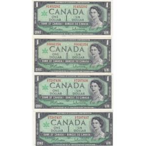 Canada 1 dollar 1967 commemorative (4 pcs)