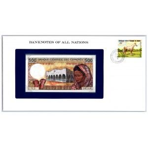 Comores 500 francs 1976