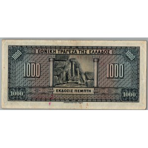 Greece 1000 drachmai 1926