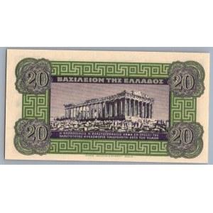 Greece 20 drachmai 1940