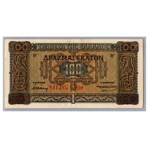 Greece 100 drachmai 1941