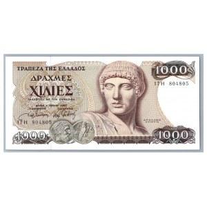 Greece 1000 drachmai 1987