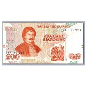Greece 200 drachmai 1996