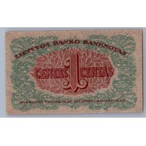 Lithuania 1 centas 1922 K