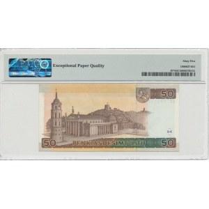 Lithuania 50 litu 2003 - Replacement note - PMG 65 EPQ