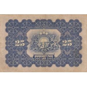 Latvia 25 latu 1928