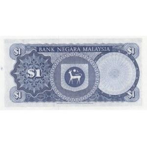 Malaysia 1 ringgit 1967-72