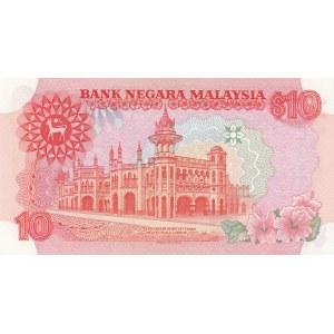 Malaysia 10 ringgit 1983-84