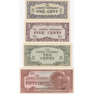 Malaya - Japan 1-50 cents 1942