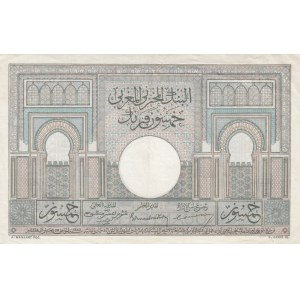 Morocco 50 francs 1947