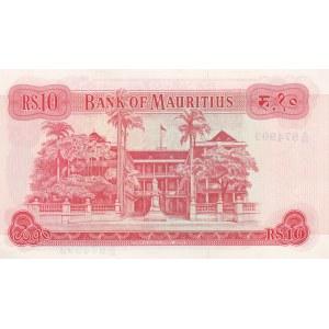 Mauritius 10 rupees 1967