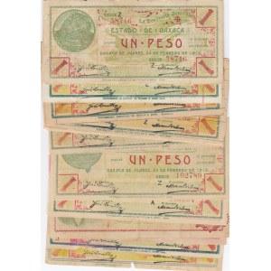 Mexico 1 peso 1915 Oaxaca (20 pcs)