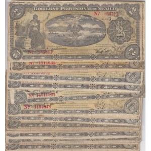 Mexico 2 pesos 1915 (27 pcs)