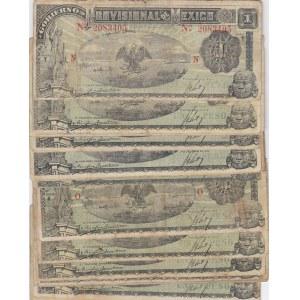 Mexico 1 peso 1916 (20 pcs)