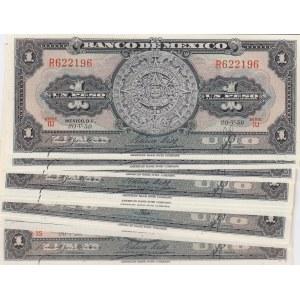 Mexico 1 peso 1959 (10 pcs)