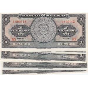 Mexico 1 peso 1965 (10 pcs)
