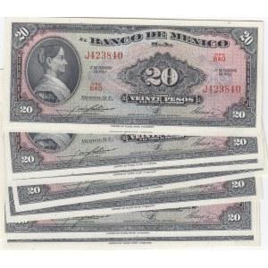 Mexico 20 pesos 1965 (10 pcs)