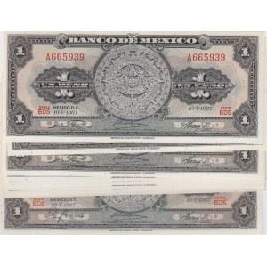 Mexico 1 peso 1967 (10 pcs)
