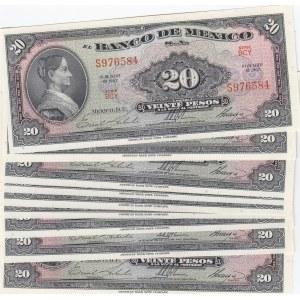 Mexico 20 pesos 1967 (10 pcs)
