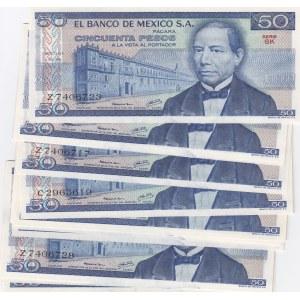 Mexico 50 pesos 1978 (17 pcs)