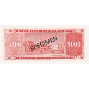 Paraguay 5000 guaranies 1979 - Specimen