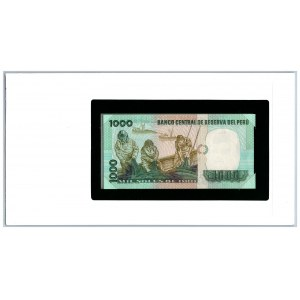 Peru 1000 soles 1979