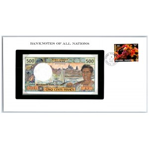 French Polynesia 500 francs 1985-96