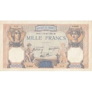 France 1000 francs 1939