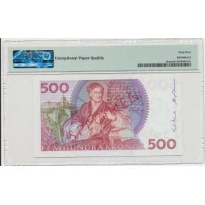 Sweden 500 kronor 1989 - Specimen - PMG 64 EPQ