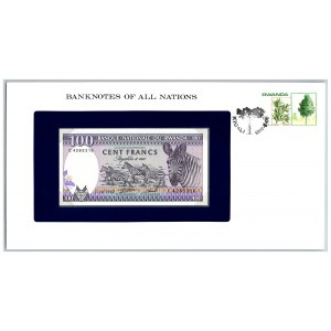 Rwanda 100 francs 1982